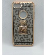 For iPhone 7 Apro Chrome Ring Leopard Case - $11.29