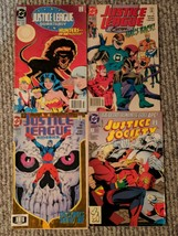 JUSTICE LEAGUE lot of 8 DC Comic Issues Quarterly America Europe Justice... - $18.69