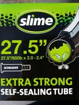 """Slime 30088 27.5""""x 2 - 2.4 Extra Strong Self-Sealing Tube w/Schrader Valve - $13.83"""