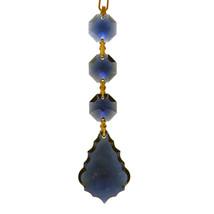 J'Leen Arrowhead Crystal Chain - Dark Sapphire image 1