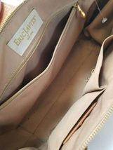 Eric Javits New York Natural Straw & Leather Shoulder Bag Purse image 5