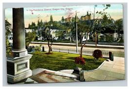 Vintage Early 1900's Oregon Residence District Oregon City Oregon UNPOSTED - $15.81