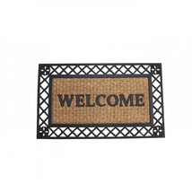 Bold Border Welcome Mat SSW-10017940 - $23.12