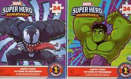 Marvel Super Hero - Adventures - 24 Pieces Jigsaw Puzzle (Set of 2) - $14.84