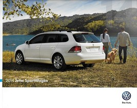2014 Volkswagen JETTA SPORTWAGEN brochure catalog 1st Edition US VW TDI ... - $8.00