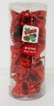 Red Christmas Jingle Bells Decorative Garland String 9 ft (274 cm) Tree ... - $9.89