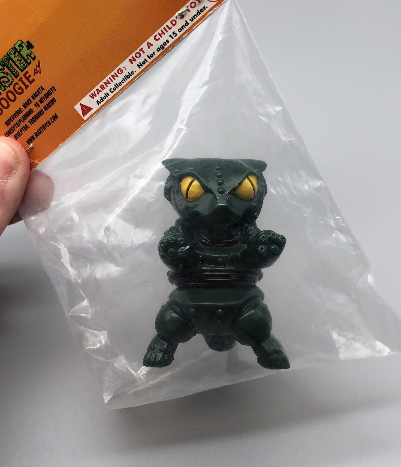 Max Toy Army Green Mini Mecha Nekoron - Mint in Bag
