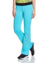 Zumba Fitness Women's Flared Trousers Full Orbit Blue Blau Marine Z1B00137 - $16.99