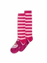 Disney Parks Alice in Wonderland Cheshire Cat Pink Disney Novelty Socks - $25.73
