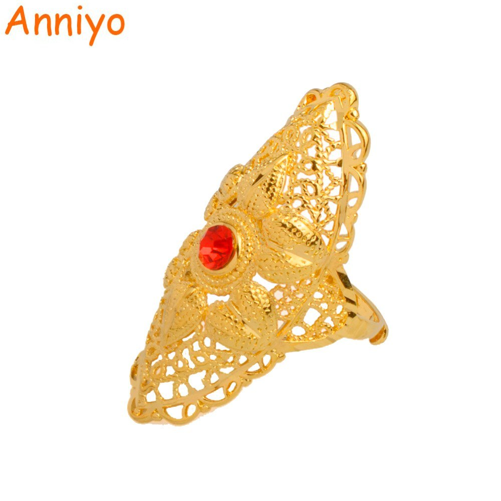 Primary image for Ethiopian Big Ring Gold Color for Women Trendy African/Arabian/Middle