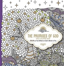 The Promises of God - Adult Coloring Book: Color as You Reflect on God's... - $9.85