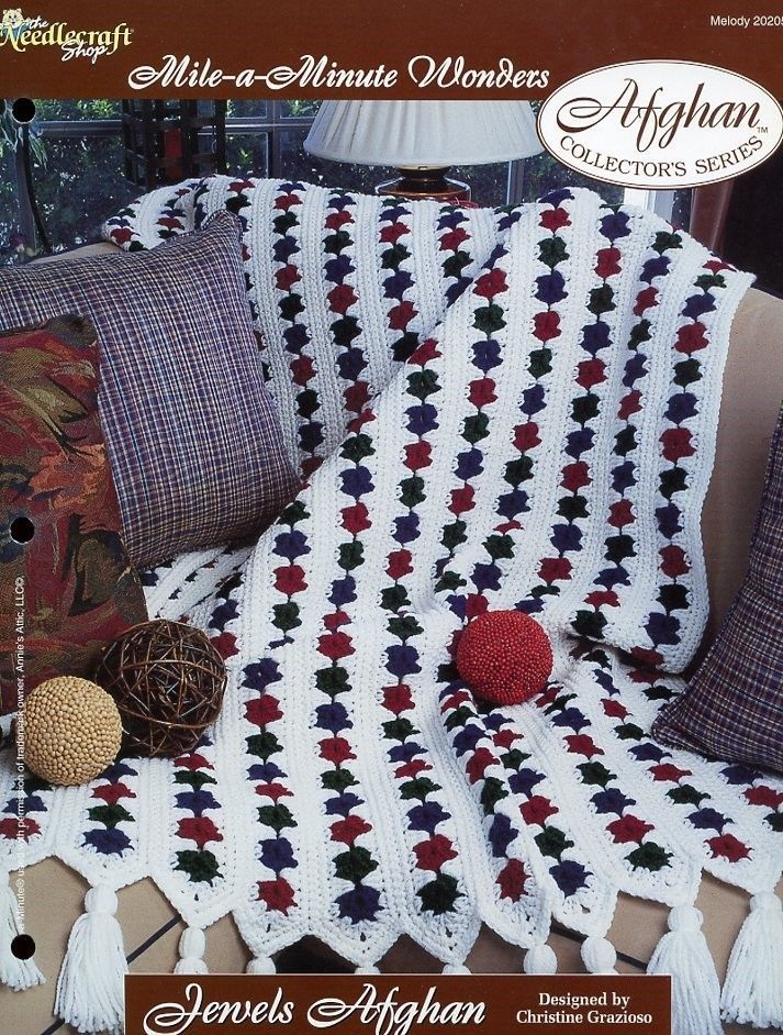 Jewels Afghan Tns Mile A Minute Crochet And 50 Similar Items