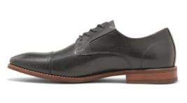 Goodfellow & Co Men's Brandt Black Real Leather Cap Toe Dress Shoes image 2