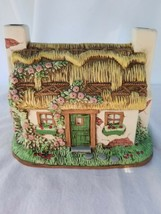 Lefton Ceramic Cottage Music Box Jane Chambless -I will Take You Home  - $36.62