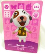 342 - Bones - Series 4 Animal Crossing Villager Amiibo Card - $10.99