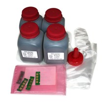 4x 100g Toner Refill with chip  for Xerox Phaser 3260, WorkCentre 3215 1... - $44.99