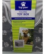 TOP PAW DOG TOY BOX FOLDING 12 X 12 X 11 BRAND NEW ANY QUANTITY DURABLE ... - $5.18
