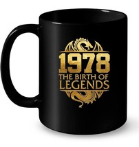 1978 The Birth Of Legends Vintage Classic 40 Yrs Years Old - $13.99+