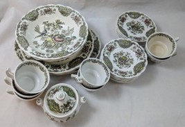 Windsor By Ridgway Staffordshire England China Flowers & Birds 29 Pieces... - $100.00