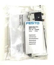 NIB FESTO VUVG-B14-T32C-MZT-F-1T1L SOLENOID VALVE 14MM, 10BAR, 573479
