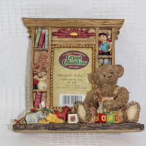Maxwell ABCs Photo Frame Cottage Collectibles by Ganz 2 X 3 Inch Teddy B... - $17.99