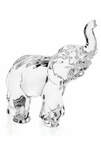 """Waterford Crystal Elephant Figurine Sculpture Paperweight 7"""" New #40032517 - $214.58"""