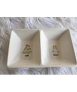 Rae Dunn Bridal Love Cheer Ceramic Dish Cake Champagne By Magenta New - $20.78
