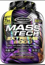 Mass Tech Extreme 2000, Triple Chocolate Brownie, 7.00 lb (3.18 kg) - $49.99