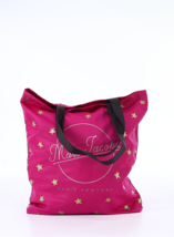 New Marc Jacobs Printed Pink Star Packable Shopper M0011377-650 Tote Car... - $39.59