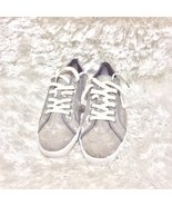 Light Gray Coach Kameron lace up sneakers - $29.99