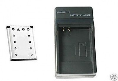 Primary image for Battery +Charger for Olympus FE-350 FE350 FE3000 FE3010