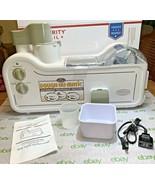 DOUGH-NU-MATIC AUTOMATIC MINI DOUGHNUT MACHINE Nostalgia Retro Series Co... - $185.61