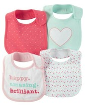 Carter's 4-Pack Teething Bibs - $7.12