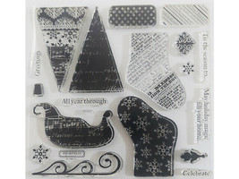 Close to My Heart Holiday Magic Clear Stamp Set #S1110 image 2