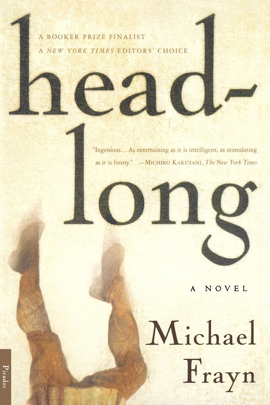 Headlong...Author: Michael Frayn (used paperback)