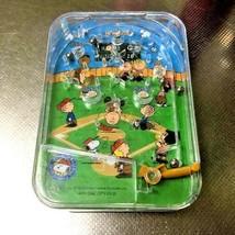 Snoopy USJ Goods empty box  rare  tin can Snoopy baseball 2004 - $30.00