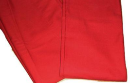 Pottery Barn 2 Solid Burnt Red Drapes Back Tab Curtains EUC 44 x 96 100% Cotton - $69.27