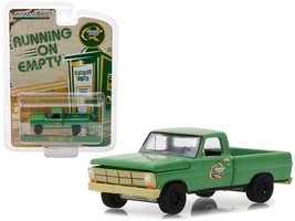 """1969 Ford F-100 Pickup Truck \""""Quaker State\"""" Green Running on Empty Ser... - $12.98"""