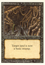Magic: The Gathering 3rd Edition - Evil Presence - $0.25