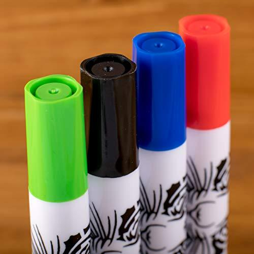 Dry Erase Markers Whiteboard Marker Pens Set Fine Point for Kids School Erasable