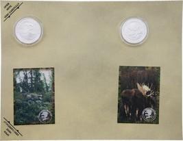 Collectible Coins Moose      H1696S - $6.99