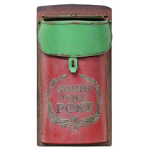 Vintage style North Pole Post Box Santa Letters Christmas Decor  - $49.95
