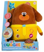 Hey Duggee Talking Kids Soft Plush Toy Brown Cuddly CBeebies Tv Characte... - $51.73