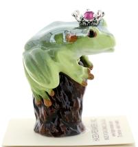 Hagen-Renaker Miniature Tree Frog Figurine Birthstone Prince 07 July Ruby image 2