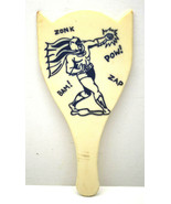 Very Rare Early Batman Toy Paddle Zonk Bam Zap POW Ouch! Missing String ... - $64.52