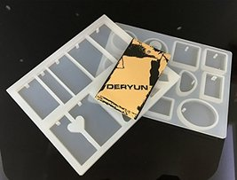 Jewelry Pendant Making Mold Silicone Casting Mould Jewellery QDU210A HQA871 - $15.15