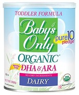 Baby's Only Organic Non-GMO Dairy with DHA & ARA Toddler Formula, 12.7 o... - $83.71