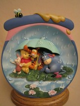 Just a Small Piece of Weather 3-D Collector Plate POOH'S HUNNYPOT ADVENT... - $39.95