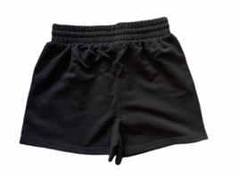 New Lot (2) Forever 21 Sweat Shorts Athletic Lounge Sleep Black White Sz S image 3