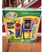 Crayola Qwikflip Glow Easel 10 Light-up Sequences Chalk Board Age 4+  - $98.01